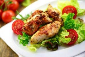 Essen abnehmen Fleisch