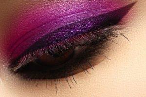 Make up Trendfarben 2010: Violett und bronze