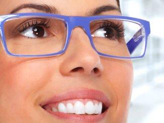 Schminken Brille