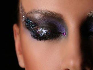 Glitzer make up richtig schminken