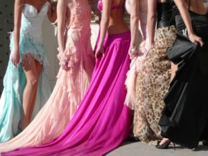 Mode üppige Stoffe