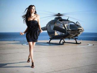 GNTM Helikopter Shooting