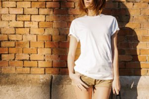 T-Shirt Frau Mode