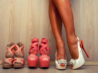 High Heels Colour Blocking