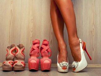 High Heels Colour Blocking