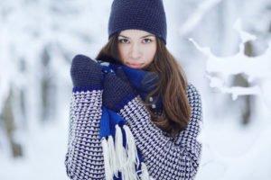 """""""Chic in Strick"""" lautet das Motto des Winters"""