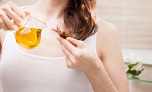 Haarpflege: Öl für die Haare