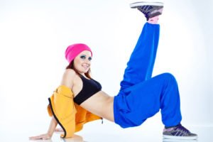 Hip Hop, Baggy-Pants und schrille Farben waren in