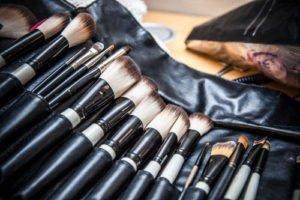 Make Up Pinsel gehören regelmäßig gereinigt