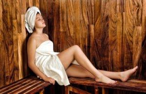 Sauna Haut Haare