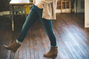 Blue Jeans sind wieder in