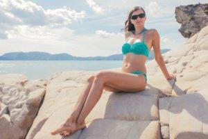 Aqua-Farbtöne passen perfekt zum Sommer