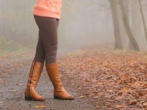 Herbstzeit ist Stiefelzeit