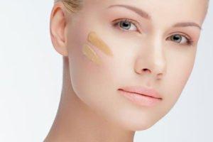 Modernen Foundations verstopfen die Poren der Haut nicht mehr