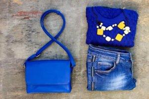 Blau kann jeder tragen