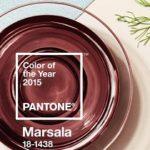 Die Pantone Farbe 2015 nennt sich Marsala