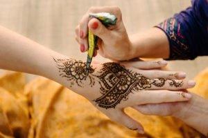 Henna Tattoo selber machen