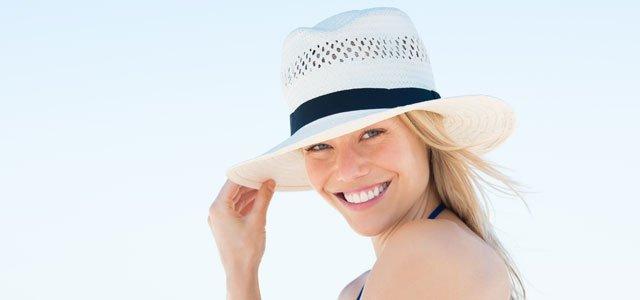Haare vor UV-Licht schützen