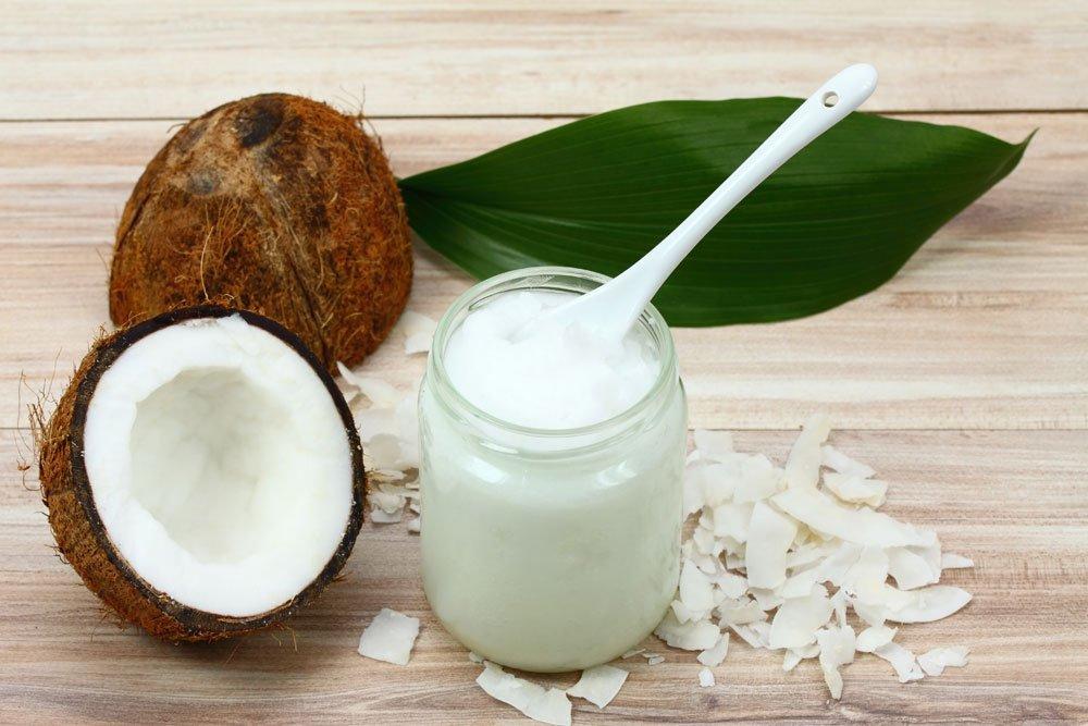 Augenbrauen Kokosöl