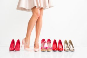 High Heels passend zur Figur