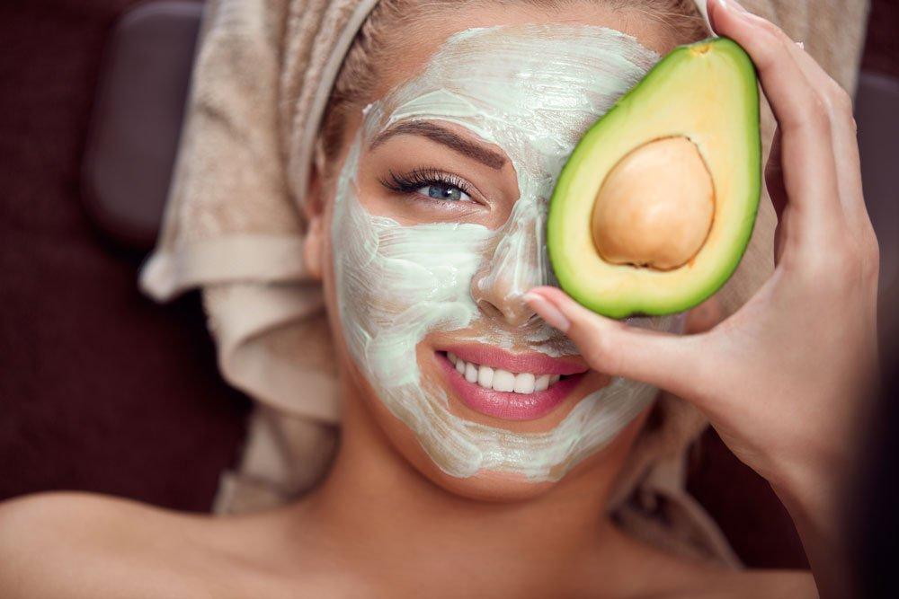Avocado Maske gegen Falten