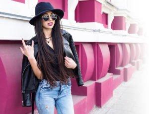 Lederjacke Jeansjacke Style