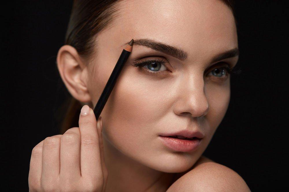 Augenbrauen Form ermitteln