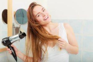 Fehler beim Haare föhnen