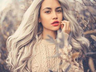 Haare grau färben