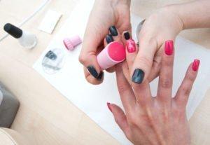 Nail Art Stamping Anleitung