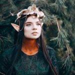Blumen-Haarreif Elfe