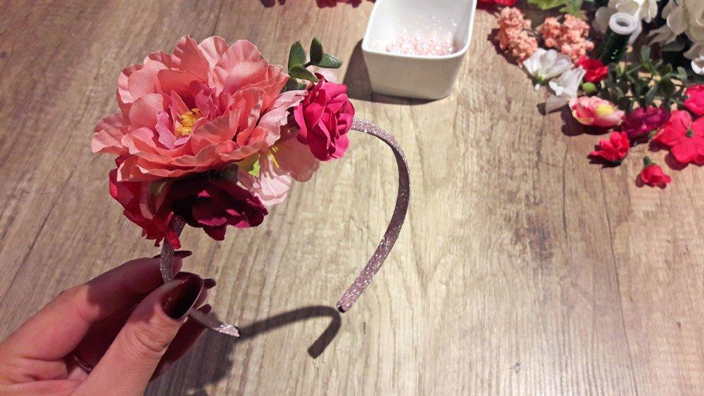 Blumen-Haarreif