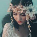 Blumen-Haarreif Meerjungfrau