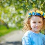 Blumen-Haarreif Ostern