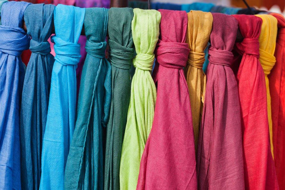 Schal Farbe