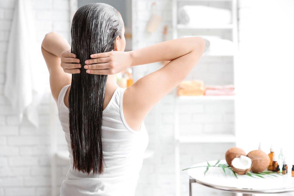 Trockene Haare - Haarlänge