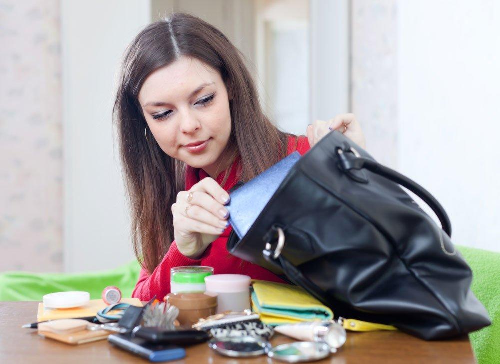 Ordnung schaffen in der Handtasche