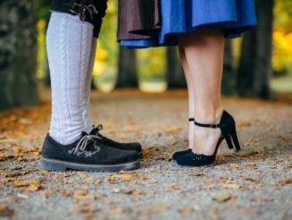 Schuhe zum Dirndl