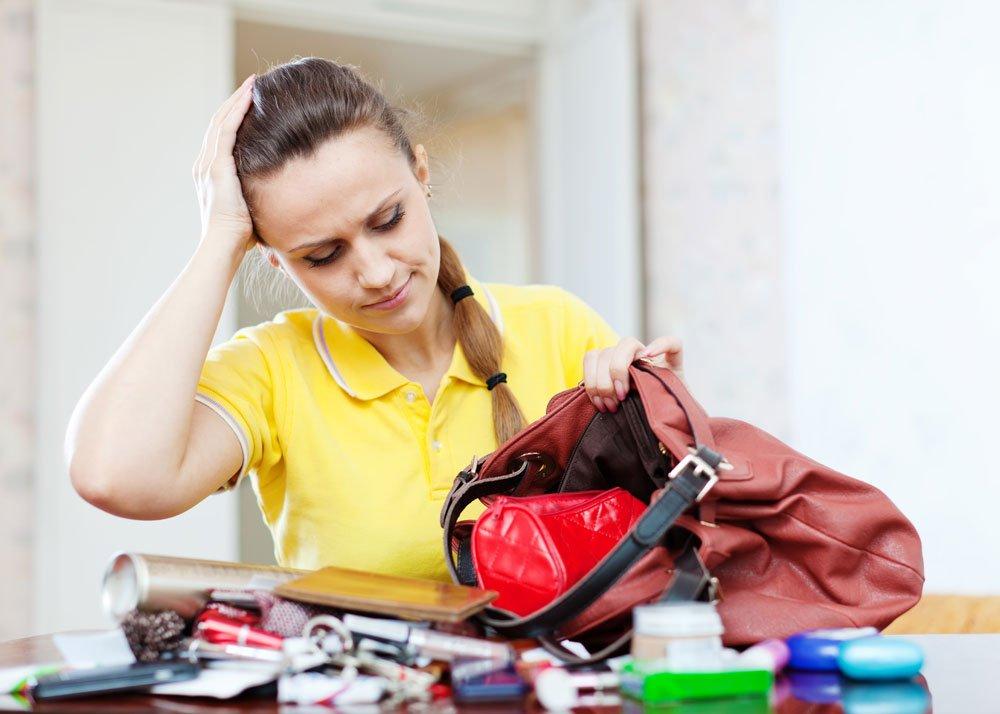 Tipps für Ordnung in der Handtasche
