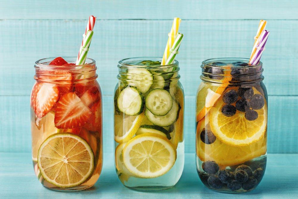Detox-Wasser Rezepte