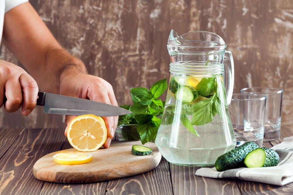 Detox-Wasser selber machen