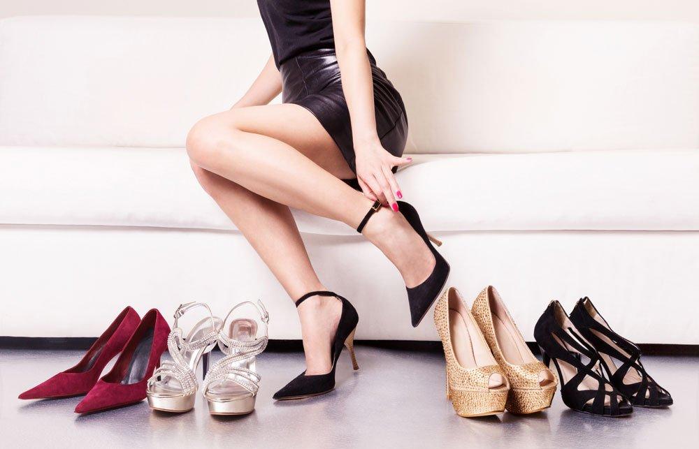 Schuhe für kleine Frauen
