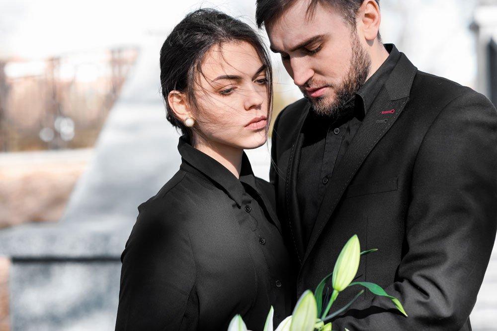 angemessene Kleidung zur Beerdigung