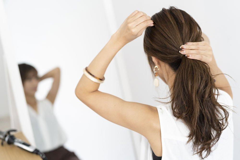 einfache Frisuren für Mütter