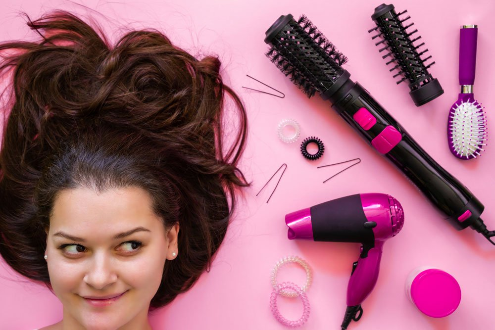 Styling Tools zum Haareglätten