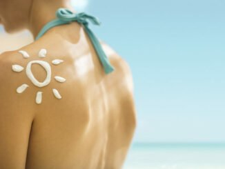 Sonnenbrand-Tattoos