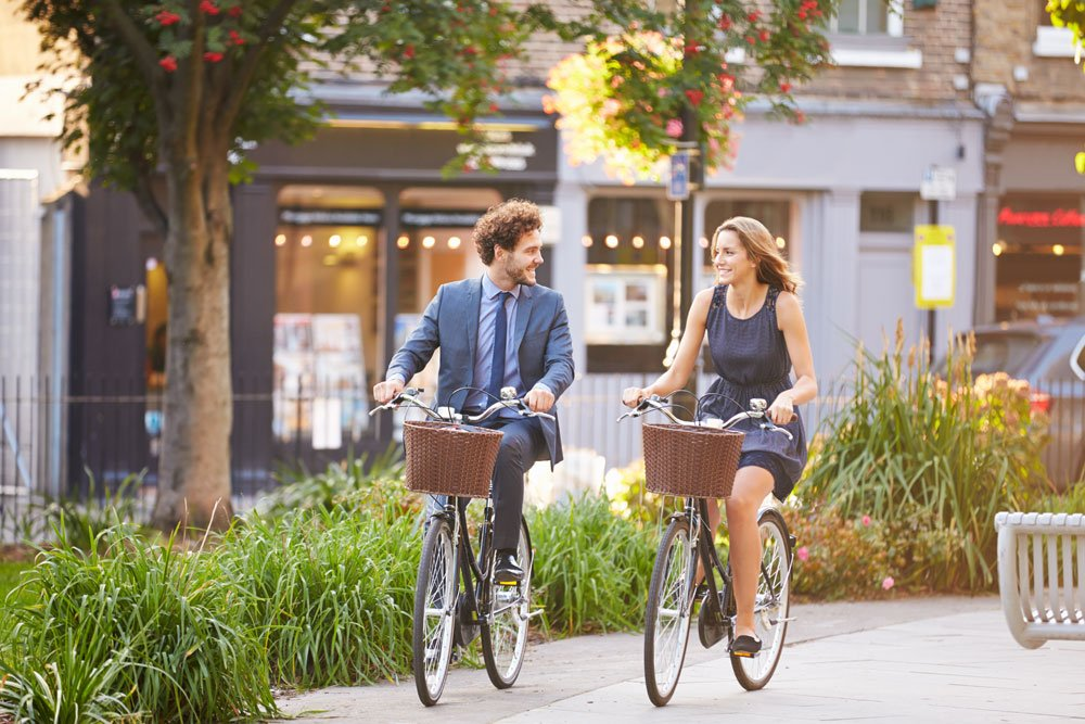 Mit dem Fahrrad zur Arbeit fahren
