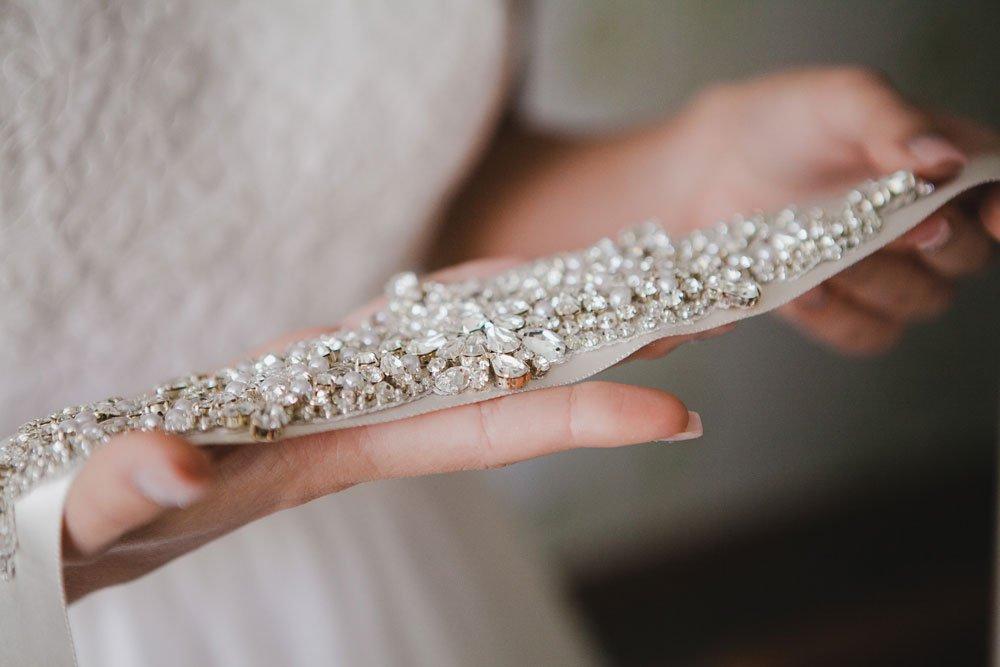 Haarband für eine Braut