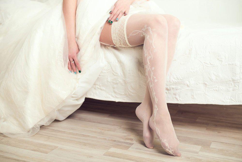 Strümpfe zum Brautkleid