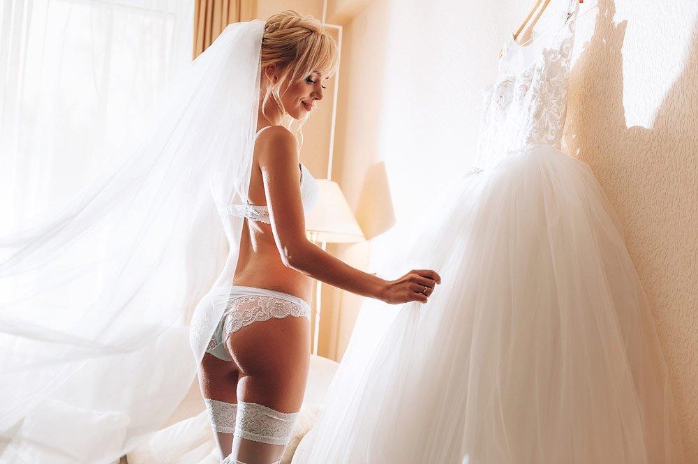 Unterwäsche zum Brautkleid